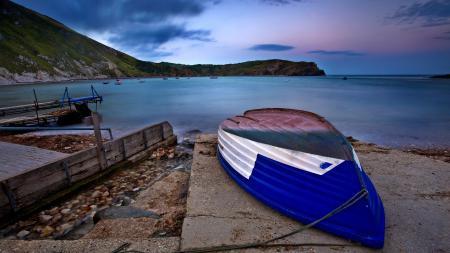 Картинки лодка, море, океан, залив