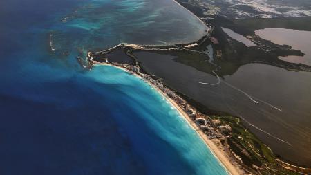 Заставки cancun, beach, sea, mexico
