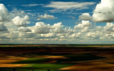 Фотографии поля, долина, вид, небо