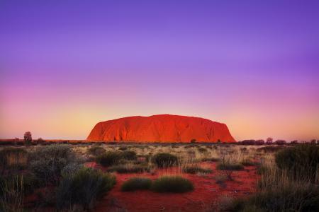 Фото австралия, пустыня, Айерс Рок, Улуру