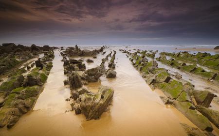 Фотографии небо, тучи, море, камни