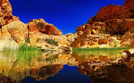 Заставки Пейзаж, природа, горы, озеро