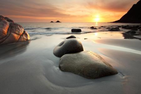 Обои Морской пейзаж, море, берег, скалы