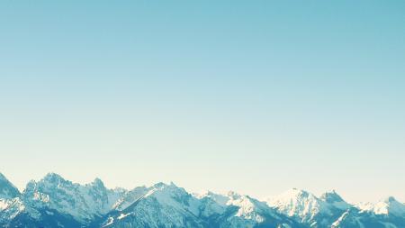 Фотографии Горы, альпы, швецария, снег