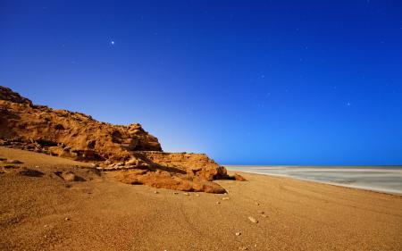 Фотографии ночь, небо, звезды, берег