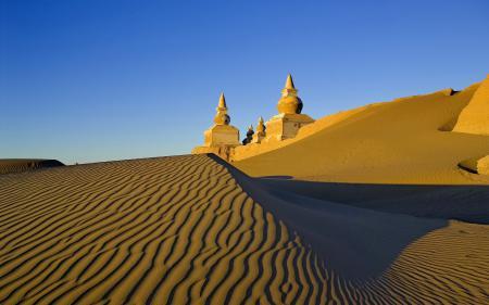 Обои Пейзаж, пустыня, песок, дюны