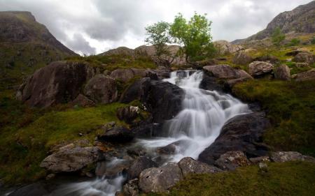 Фотографии горы, река, туман, пейзаж