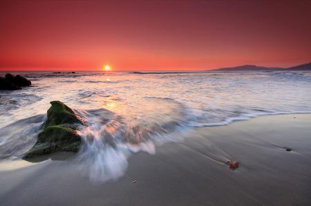 Фото небо, закат, море