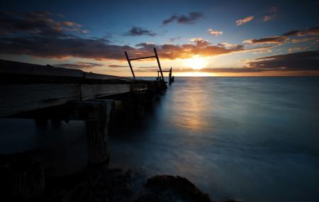 Фотографии море, небо, берег, побережье