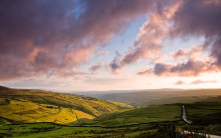 Фото природа, пейзаж, поля, панорама