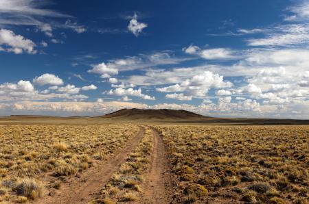 Заставки небо, облака, пустыня, дорога