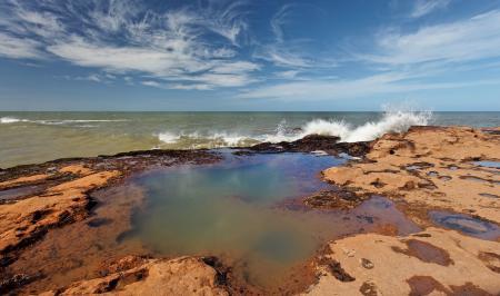 Фотографии море, волна, камни, берег