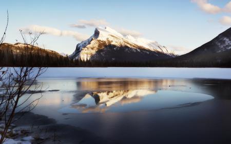 Картинки природа, пейзаж, зима, горы