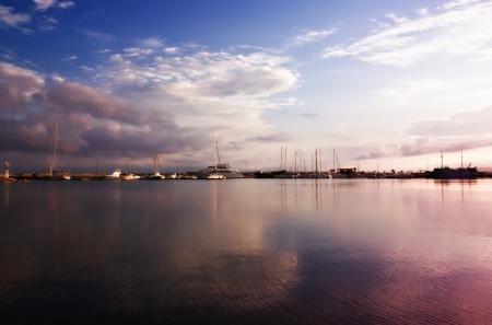 Фотографии Пейзаж, Облака, Небо, Море