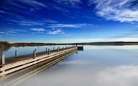 Фотографии причал, вода, озеро, человек