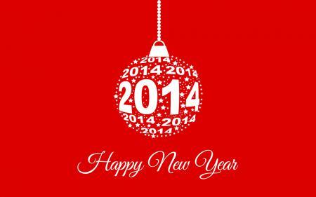 Заставки Happy New Year, 2014, игрушка, фон