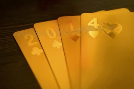 Фото 2014, Новый год, карты, покер