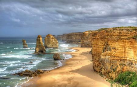 Фото Австралия, море, океан, скалы
