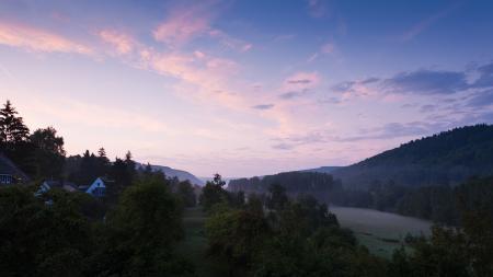 Заставки природа, пейзаж, утро, расвет