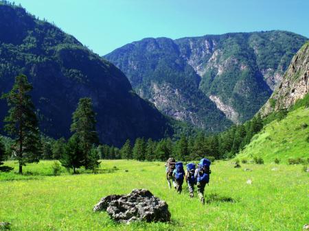 Фото Природа, Горы, Алтай, Поход