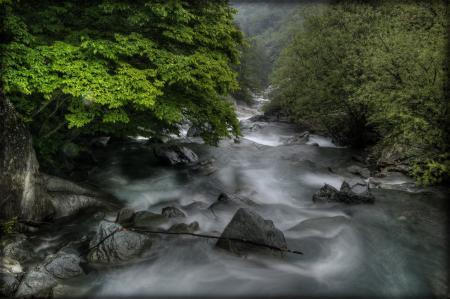 Картинки природа, лето, река, камни