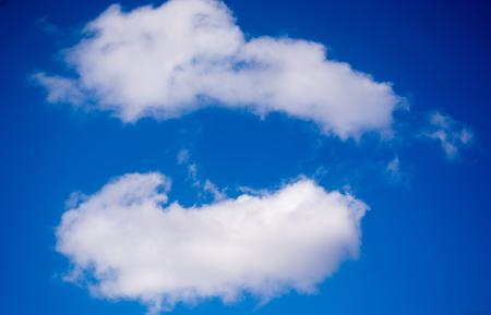 Картинки небо, синее, облака, белые
