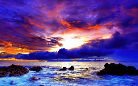 Фотографии небо, облака, тучи, закат