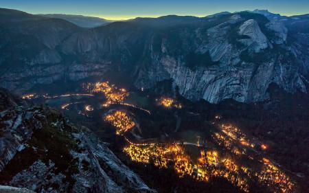 Фотографии природа, Yosemite Valley, горы, Glacier Point