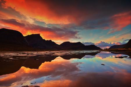 Фото горы, природа, пейзаж, озеро