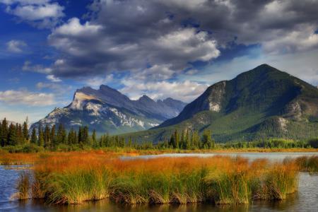 Фотографии banff national park, alberta, canada, канада