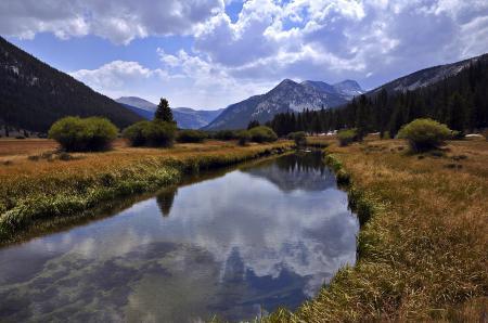 Фотографии yosemite, река, горы, озеро