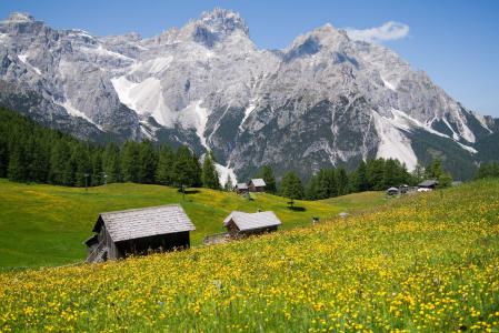 Фотографии Альпы, природа, пейзаж, красота