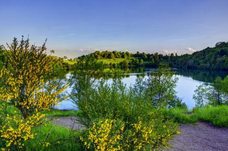 Обои река, пейзаж, природа, берег