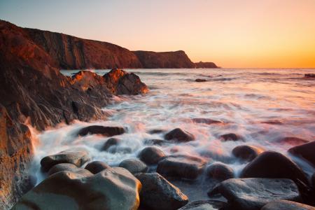Фото природа, скалы, камни, море