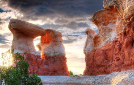 Обои природа, юта, сша, долина монументов