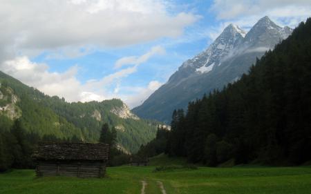 Фотографии Фото, Природа, Горы, Склон