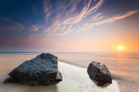 Заставки пляж, берег, камни, песок