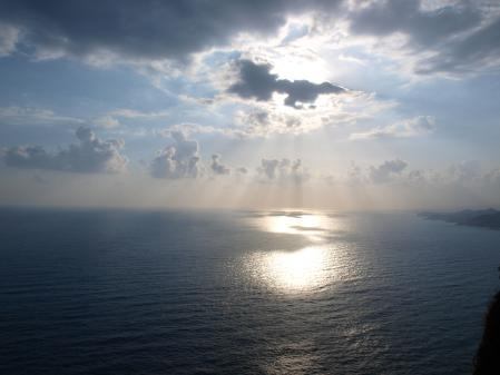 Фото море, горы, солнце, синий