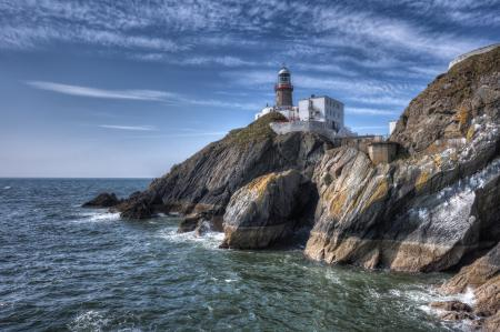 Картинки Baily Lighthouse, Howth, Ireland, Ирландия