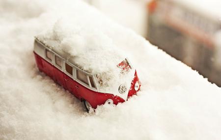 Заставки автобус, игрушка, снег, зима