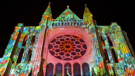Фото собор, церковь, свет, цвет