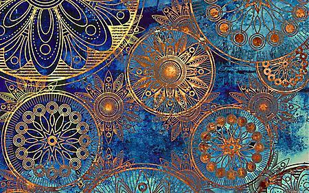 Заставки красивый орнамент, великолепный узоры, винтажный фон, 1920x1200 px