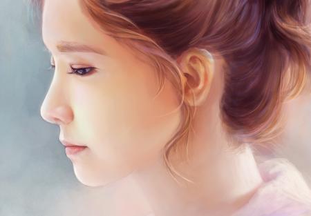 Картинки арт, Yoona, SNSD, Girls Generation