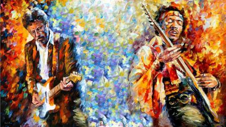 Картинки Картина, искусство, живопись, Jimi Hendrix