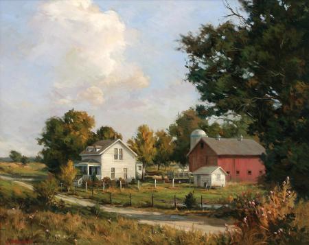 Заставки картина, арт, пейзаж, John Pototschnik
