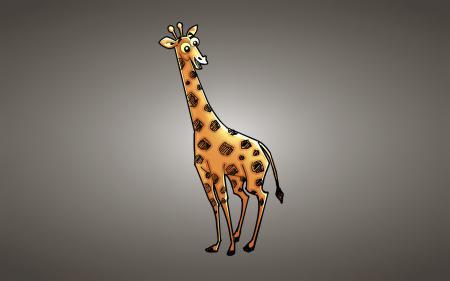 Картинки жираф, светлый фон, улыбчивый, giraffe