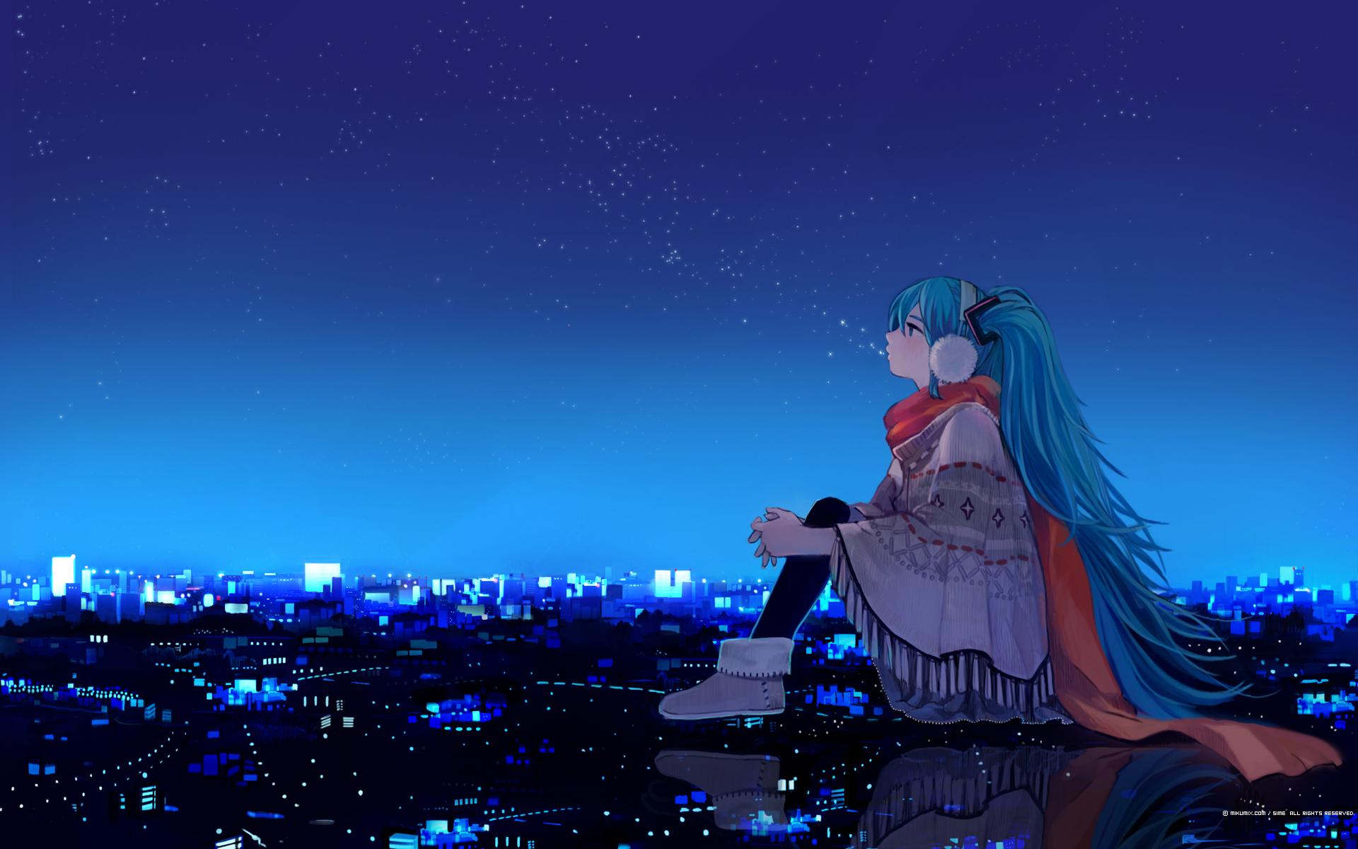 Картинки Vocaloid скачать на рабочий стол, заставки арт