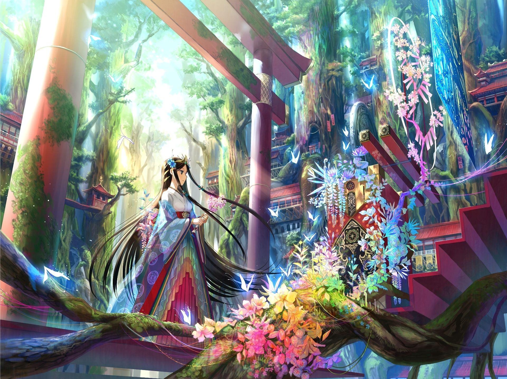 аниме принцессы девушки: