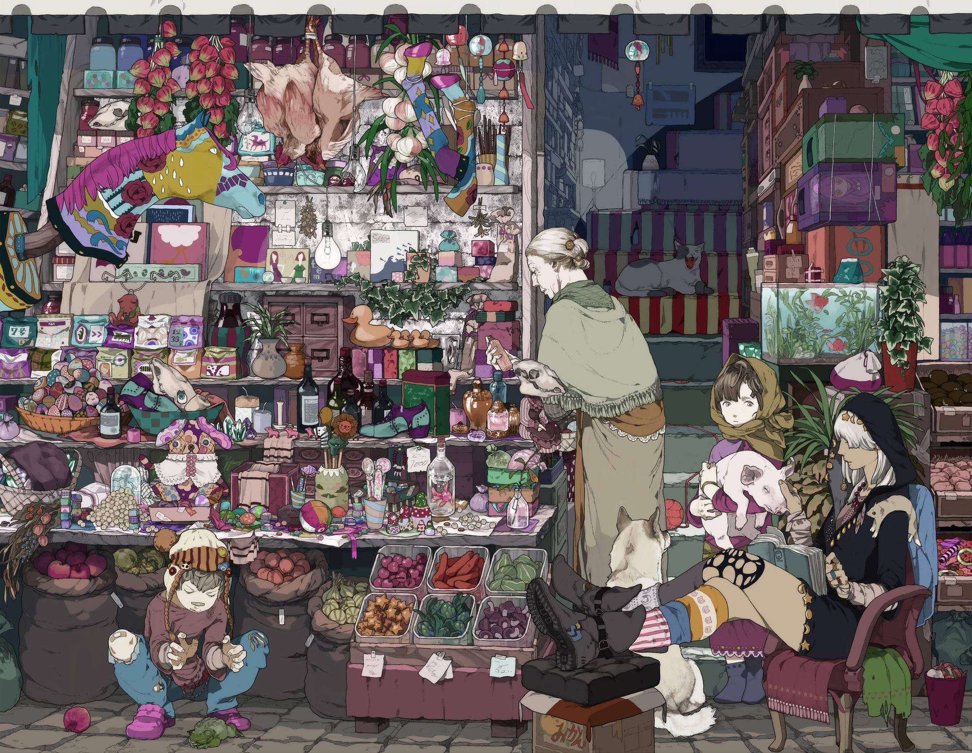 лучшие аниме картинки на телефон