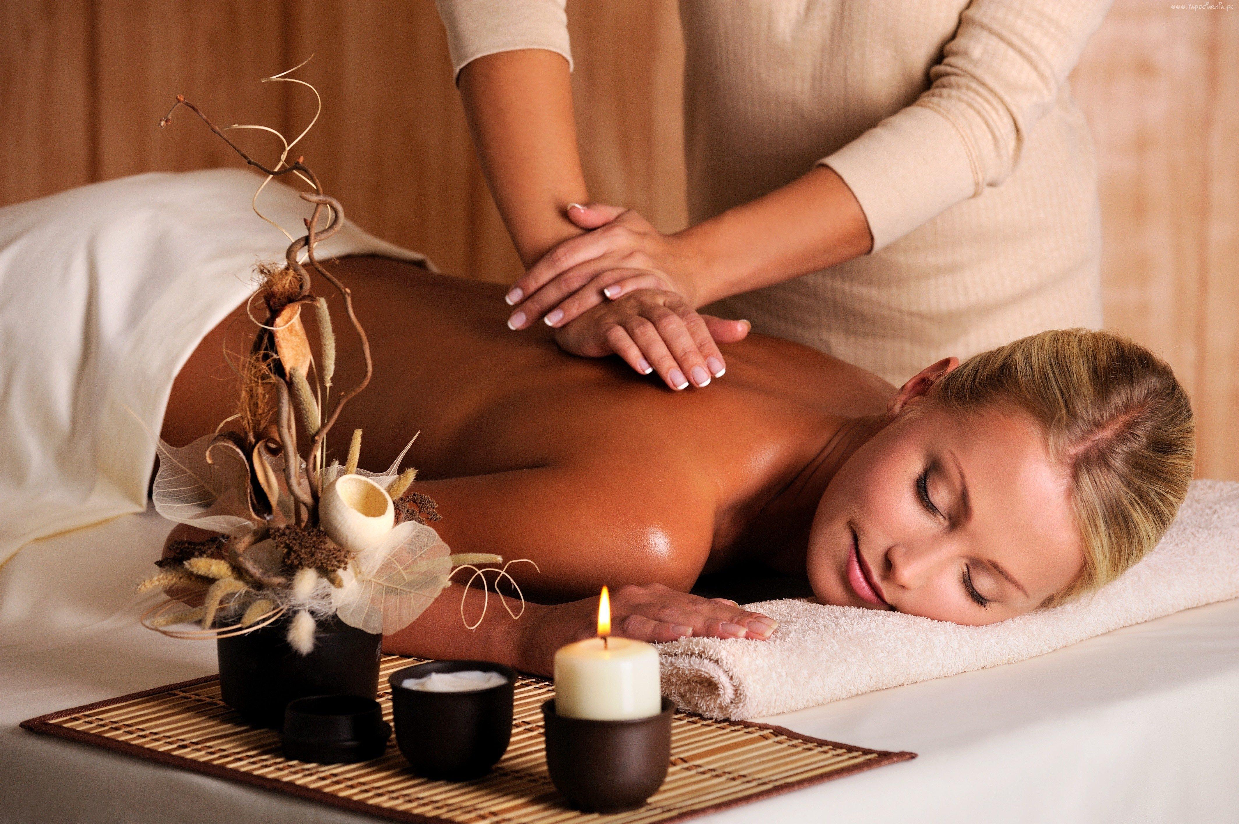 Фото массажа женщин 4 фотография
